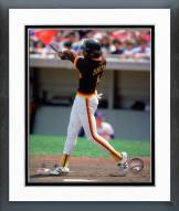 San Diego Padres Ozzie Smith 1981 Action Framed Photo