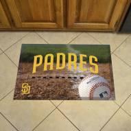 San Diego Padres Scraper Door Mat