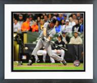 San Diego Padres Seth Smith 2014 Action Framed Photo