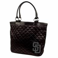 San Diego Padres Sport Noir Quilted Tote
