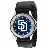 San Diego Padres Veteran Velcro Mens Watch
