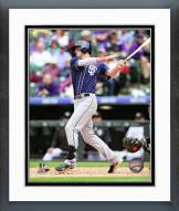 San Diego Padres Wil Myers 2015 Action Framed Photo