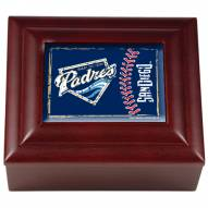 San Diego Padres Wood Keepsake Box
