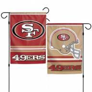 """San Francisco 49ers 11"""" x 15"""" Garden Flag"""