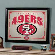 "San Francisco 49ers 23"" x 18"" Mirror"