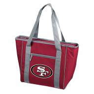 San Francisco 49ers 30 Can Cooler Tote Bag