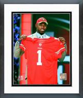 San Francisco 49ers Aldon Smith 2011 NFL Draft #7 Pick Framed Photo