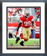 San Francisco 49ers Aldon Smith 2014 Action Framed Photo