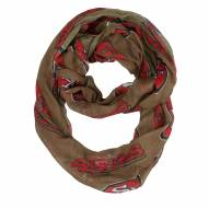 San Francisco 49ers Alternate Sheer Infinity Scarf