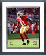 San Francisco 49ers Antoine Bethea 2014 Action Framed Photo