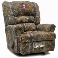 San Francisco 49ers Big Daddy Camo Recliner