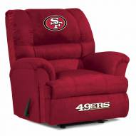 San Francisco 49ers Big Daddy Recliner