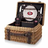San Francisco 49ers Black Champion Picnic Basket