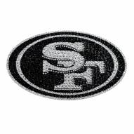 San Francisco 49ers Bling Car Emblem