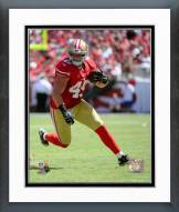 San Francisco 49ers Bruce Miller 2014 Action Framed Photo