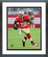 San Francisco 49ers Carlos Hyde 2014 Action Framed Photo