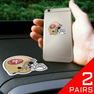 San Francisco 49ers Cell Phone Grips - 2 Pack