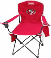 San Francisco 49ers Coleman XL Cooler Quad Chair
