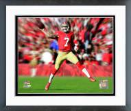 San Francisco 49ers Colin Kaepernick Motion Blast Framed Photo
