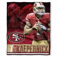 San Francisco 49ers Colin Kaepernick Silk Touch Blanket