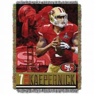 San Francisco 49ers Colin Kaepernick Throw Blanket
