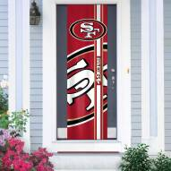 San Francisco 49ers Door Banner