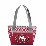 San Francisco 49ers Double Diamond Cooler Tote