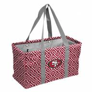San Francisco 49ers Double Diamond Picnic Caddy
