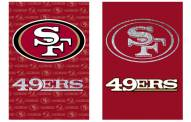 San Francisco 49ers Double Sided Glitter Flag