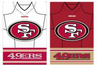 San Francisco 49ers Double Sided Jersey Flag