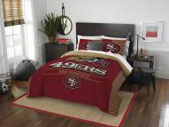 San Francisco 49ers Draft Full/Queen Comforter Set