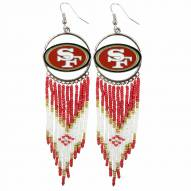 San Francisco 49ers Dreamcatcher Earrings