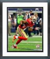San Francisco 49ers Eric Reid 2014 Action Framed Photo