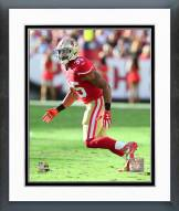 San Francisco 49ers Eric Reid 2015 Action Framed Photo
