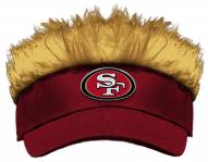 San Francisco 49ers Flair Hair Visor