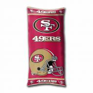 San Francisco 49ers Folding Body Pillow