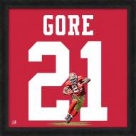 San Francisco 49ers Frank Gore Uniframe Framed Jersey Photo
