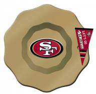 San Francisco 49ers Glass Dip Bowl with Charm