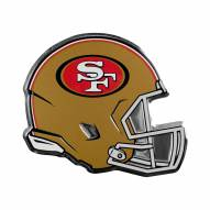 San Francisco 49ers Helmet Car Emblem