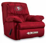 San Francisco 49ers Home Team Recliner