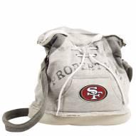 San Francisco 49ers Hoodie Duffle