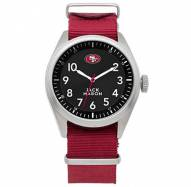 San Francisco 49ers Jack Mason Men's Nato Watch