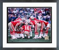 San Francisco 49ers Joe Montana 1982 Action Framed Photo
