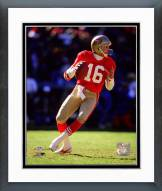 San Francisco 49ers Joe Montana 1989 Actiion Framed Photo
