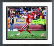 San Francisco 49ers Joe Montana 1989 Action Framed Photo