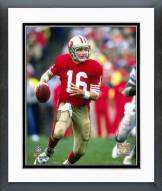 San Francisco 49ers Joe Montana - #22 Framed Photo