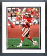 San Francisco 49ers Joe Montana - #6 Rocket Launcher Framed Photo