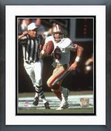San Francisco 49ers Joe Montana - #7 Scramble Framed Photo
