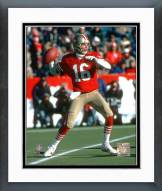 San Francisco 49ers Joe Montana - #9 Toss Framed Photo