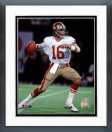 San Francisco 49ers Joe Montana - Action Framed Photo